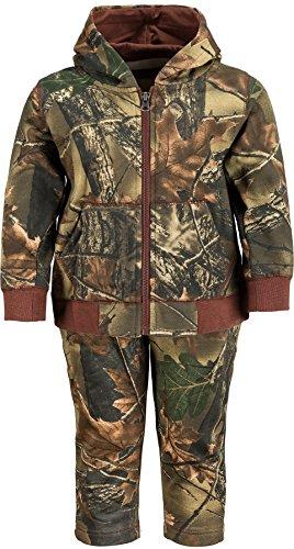 TrailCrest Infant - Toddler Two Piece Cotton Jacket & Pants Set, 6, Camo