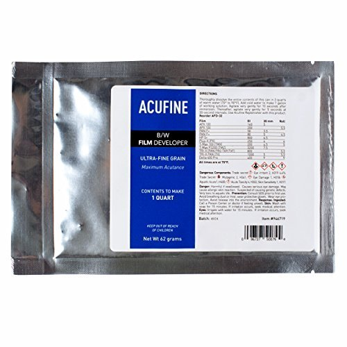 Acufine Black & White Film Developer Concentrate, Makes 1 Qt. of Stock Solution