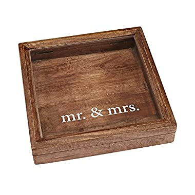 Mud Pie Keepsake Mrs Shadow-Box