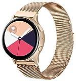 KOJJ Metallo 20mm Cinturino Compatible con Samsung Galaxy Watch Active 2 40mm 44mm/Active...