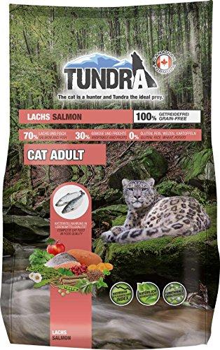 Tundra Cat Trockenfutter (getreidefrei) Lachs - Salmon (1,45 kg)