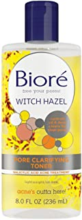 Biore Witch Hazel Toner Facial Treatment - 8oz, 8 Ounce