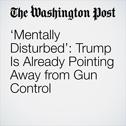'Mentally Disturbed': Trump Is Already Pointing Away from Gun Control copertina