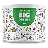 Big Greens l Superfood Smoothie Pulver l 26 Superfoods harmonische kombiniert wie Gerstengras, OPC, Acerola, Reishi, Chlorella, Moringa, Spirulina l Hergestellt in Deutschland l 200 Gramm l vegan