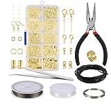 Fabrication de Bijoux Kit,Kit de Réparation de Bijoux 912 p