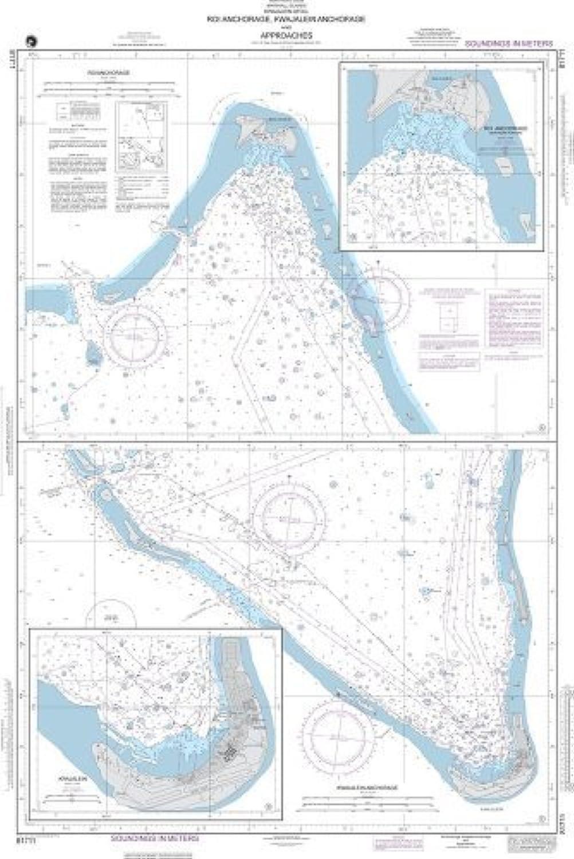 NGA Diagramm Marine und Wei  Roi Anchorage, Kwajalein Anchorage und Anstze Plne  A. Roi Anchorage von National geospatial-intelligence Agentur