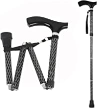 patterned folding walking sticks