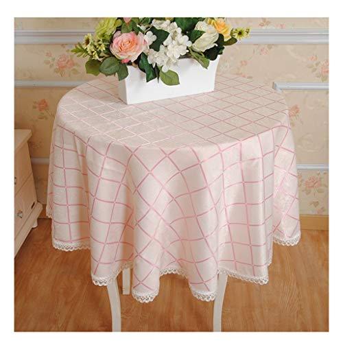 William 337 Mantel redondo – Home Round mesa de café mantel moderno minimalista cuadrado mantel (color: B, tamaño: redondo-180 cm)