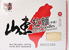 Wu-Mu -- Dry Noodle 4 LB (Med)