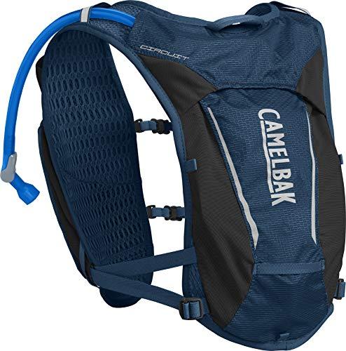 CamelBak Circuit Vest, Paquetes para Mujer, Gibraltar Navy/Plata, Talla única
