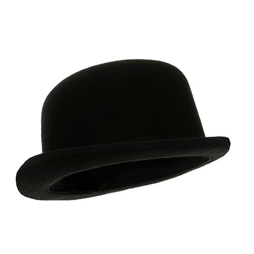 Black Blended Wool Derby Hat 9c01b44cf7d