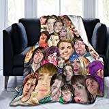 Shane Dawson Life Comfort Camping Blanket Suitable for Baby Boy and Girl Bed Spread Black and White Throw Blankets