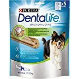 Purina Dentalife Cane Snack per l'Igiene Orale, Taglia Medium, 5 Confezioni da 115 g Ciascuna