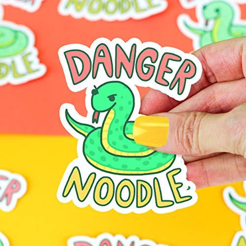 Snake Sticker, Danger Noodle, Funny Vinyl Stickers, Laptop Stickers