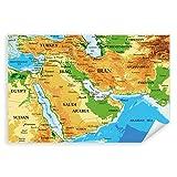 Postereck - 3733 - Landkarte, Karte Naher Osten Iran Irak