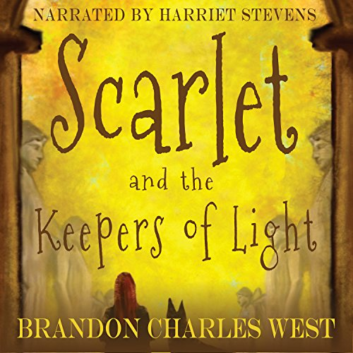 Scarlet and the Keepers of Light audiobook cover art