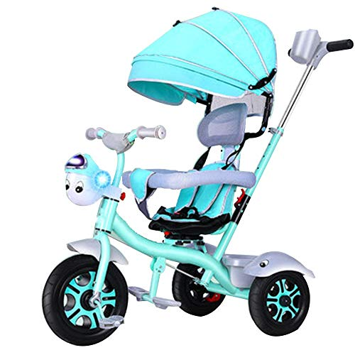 Best Bargain YUMEIGE Kids' Tricycles Kids Tricycle with Five-Point Seat Belt 1-6 Years Old Birthday ...