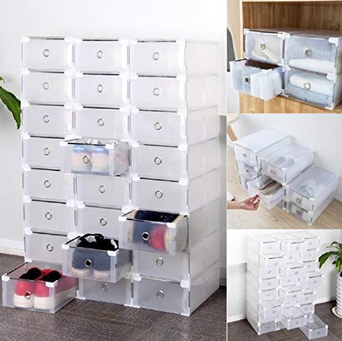 Homgrace 10 Cajas/12 Cajas/24 Cajas para Zapatos