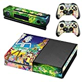 Callula & Partner Vinyl Skin Sticker Cover Decal for Microsoft Xbox One Console and Remote Controllers Funny Cartoon HD Printing