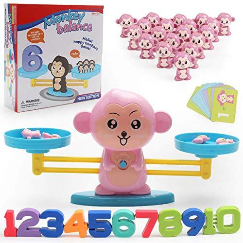 ExcLent Kinder Frühen Pädagogischen Babywaage Balance Math Game Kinder Montessori Intelligence Toys
