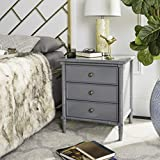 Safavieh Home Collection Mina Modern Coastal 3 Drawer 25'...