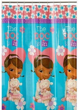 Kids Warehouse Doc McStuffins Doc is in Shower Curtain