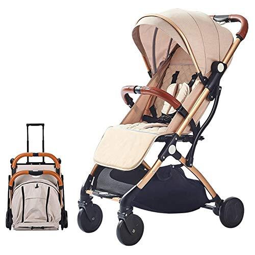 Los cochecitos para niños pequeños, cochecitos plegables y cochecitos de bebé usan ruedas silenciosas que absorben los golpes, los cochecitos son muy adecuados para recién nacidos.