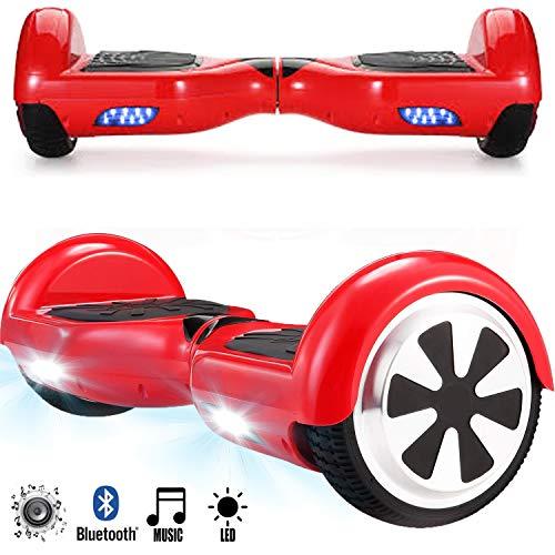 Magic Vida Skateboard Électrique 6.5 Pouces Bluetooth Puissance 700W...