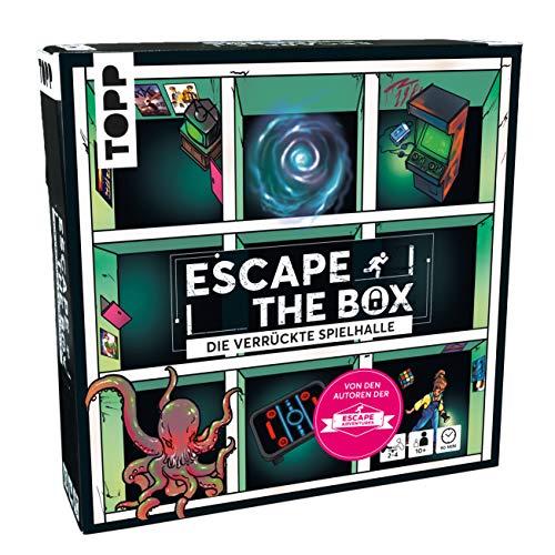 Escape The Box – Die verrückte Spielhalle: Das ultimative Escape-Room-Erlebnis als Gesellschaftsspiel!