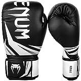 Venum Challenger 3.0 Guantes de Boxeo, Unisex Adulto, Negro/Blanco, 14 Oz