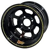 Aero 55-184020 55 Series 15x8 Inch Wheel, 4-lug, 4 on 4 BP, 2 Inch BS