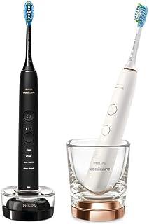Philips Sonicare Elektrische Tandenborstel DiamondClean 9000 Duo - Voor wittere tanden - Poetsdruksensor - App connected -...