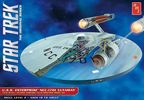 AMT 891/06 1/537 Star Trek TOS Enterprise Cutaway