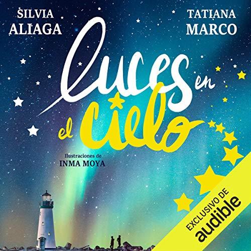 Diseño de la portada del título Luces en el Cielo