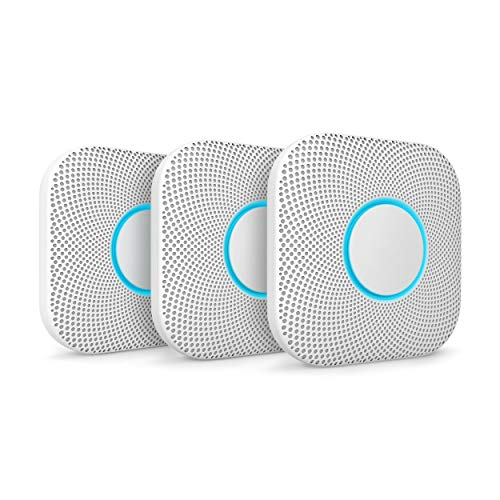 Nest, Rauchmelder und Kohlenmonoxid-Alarm, Nest Protect, 2. Generation, Batterie, S3000BWES, weiß, S3006WBUS