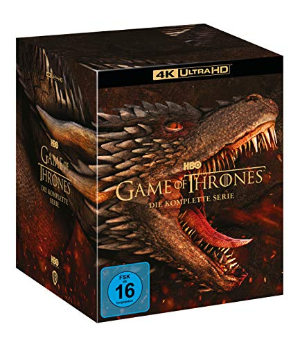 Game Of Thrones - TV Box Set (4K Ultra HD) [Blu-ray]