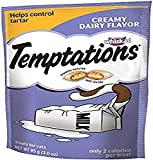 Whiskas Temptations Creamy Dairy Flavour Treats for Cats, 3-Ounce Pouches (Pack of 12)