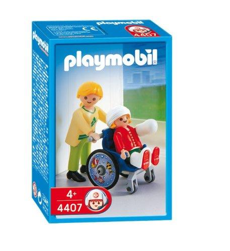 Playmobil 626599 - Hospital Silla De Ruedas+Niño