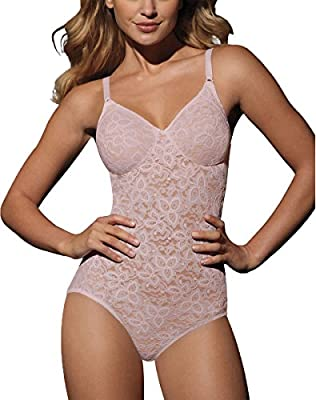 Bali Lace N Smooth BodyBriefer (8L10) Rosewood, 38C from