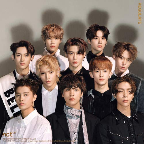 NCT 127 1st Repackage Album - NCT # 127 REGULATE [ RANDOM ver. ] CD + Booklet + Photocard + FREE GIFT / K-pop Sealed
