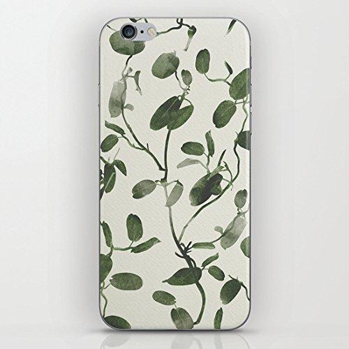 Koienou Hoya Carnosa/Porcelainflower–hard shell Black sides cover custodia per iPhone 6(11,9cm)/6S