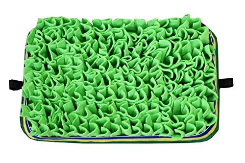 CHANJOON Snuffle Mat para perros, 45 cm x 30 cm, juguetes interactivos para perros para aburrimiento, almohadilla para la nariz para forrajear y excavar, alimentador lento para cachorros de gato