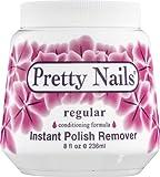 Pretty Nails Regular Nail Polish Remover, 8 Ounce