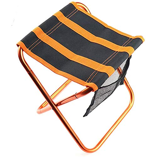 AHP Camping Folding Stool,Sturdy Heavy Duty Portable Camping Stools,Ultralight Portable Folding Camping Stool for Outdoor Fishing Hiking Travelling,A