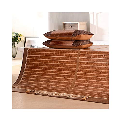 Buy LIUYUNH Double-Sided Bamboo Mat Ecological Bamboo Mat Folding Air Conditioning Mat Bamboo Vine S...