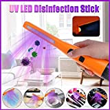 FAST UV LED Desinfektion Stock, UV-Lampen-bewegliche Desinfektion Lampe USB keimtötende...