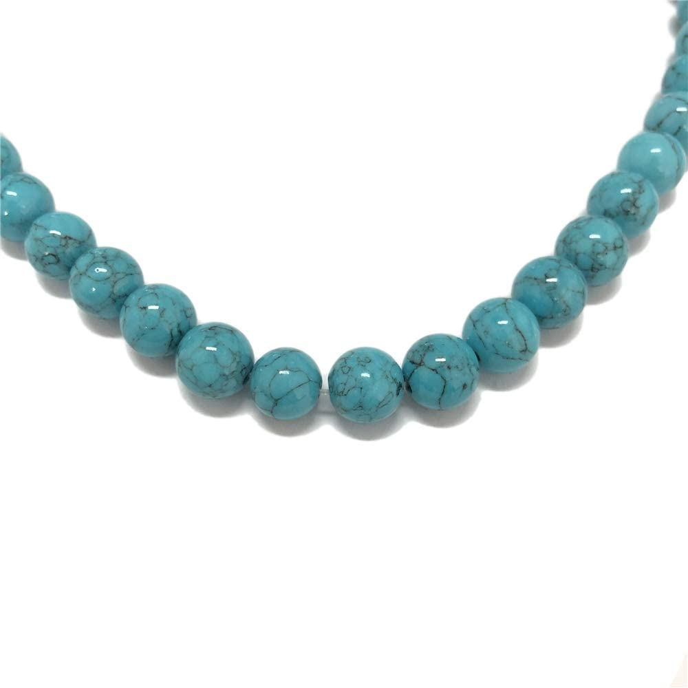 6mm African Turquoise Beads Wholesale Loose Round Ball Bead With Well Polished Gemstone Natural Stone CC-014