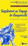 Supplément au Voyage de Bougainville de Denis Diderot by Geneviève Bussac (2002-09-18) - Bréal - 18/09/2002