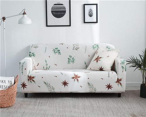 KOLIU Fundas elásticas, Cubierta de sofá elástica seccional para Sala de Estar Cubierta de sofá Cubierta de sillón en Forma de L Asiento Individual/Dos/Tres/Cuatro-Color 7_2 plazas 145-185cm