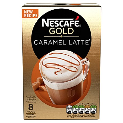 Nescaf? Caf? Menu Latte Caramel 17 g (Pack of 6, Total 48 Units)